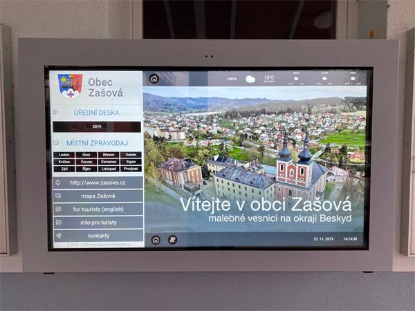 digitální úřední deska / Obec Zašová